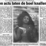 RailRoad Blues Festival in Amsterdam, Holland. Covered in the Brabant's Dagblad - Donderdag 18, Juli 1996